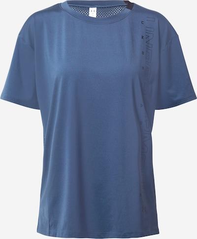 UNDER ARMOUR Funkcionalna majica | dimno modra / črna barva, Prikaz izdelka