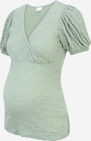 Camicia da donna 'Ane' di MAMALICIOUS in verde