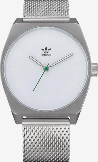 ADIDAS ORIGINALS Uhr in silber / weiß, Produktansicht