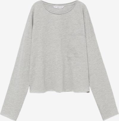MANGO KIDS Shirt in de kleur Lichtgrijs, Productweergave