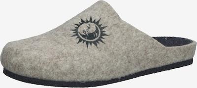 COSMOS COMFORT Pantoufle en gris chiné / noir, Vue avec produit