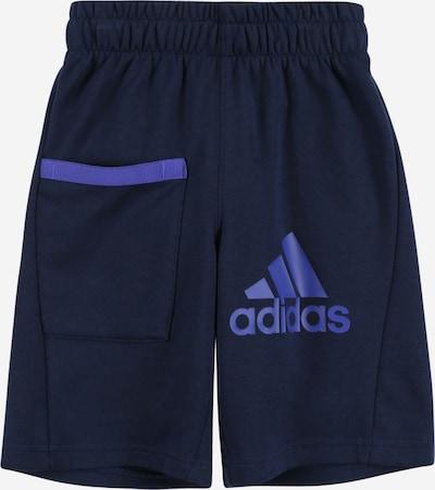 ADIDAS PERFORMANCE Sportshorts in blau / navy, Produktansicht