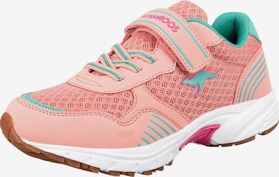 KangaROOS Sportschuh 'MIRO' in türkis / rosa, Produktansicht