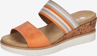 REMONTE Pantolette in mischfarben / orange, Produktansicht