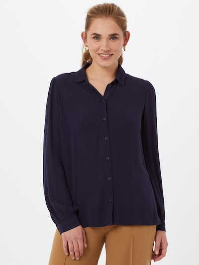 EDC BY ESPRIT Bluse in navy, Modelansicht