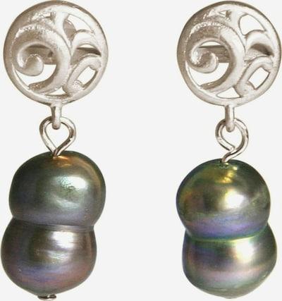 Gemshine Ohrringe in grau / silber, Produktansicht