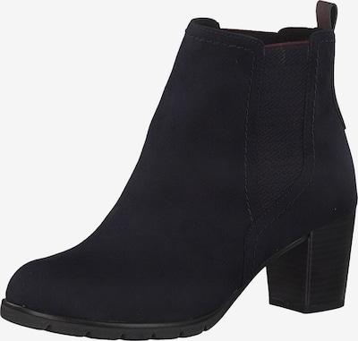 MARCO TOZZI Chelsea Boots in nachtblau / dunkelrot, Produktansicht
