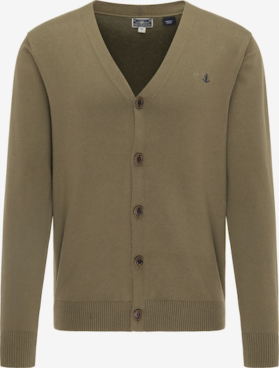 DreiMaster Maritim Knit cardigan in khaki, Item view