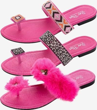 StarFlips Zehentrenner in mischfarben / pink, Produktansicht