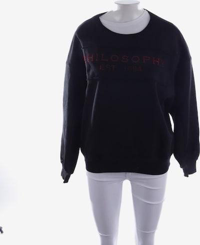 Philosophy di Lorenzo Serafini Sweatshirt  in S in schwarz, Produktansicht