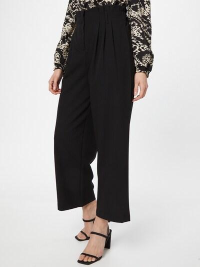 MOSS COPENHAGEN Pantalon à pince 'Amila' en noir, Vue avec modèle