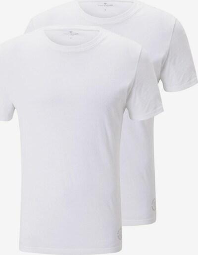 TOM TAILOR Majica | bela barva, Prikaz izdelka