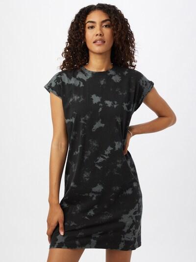 Urban Classics Kleid in grau / schwarz, Modelansicht