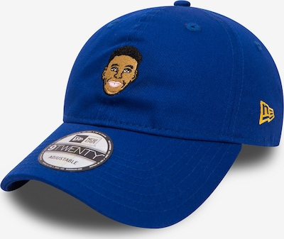 NEW ERA Snapback Cap 'Primary Head Stephen Curry' in blau, Produktansicht