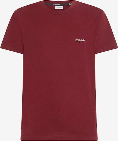 Calvin Klein Shirt in bordeaux / weiß, Produktansicht