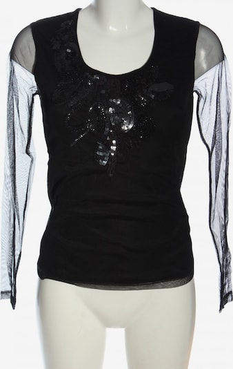 apriori Langarm-Bluse in XS in schwarz, Produktansicht