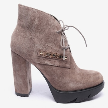 Love Moschino Dress Boots in 39 in Grey