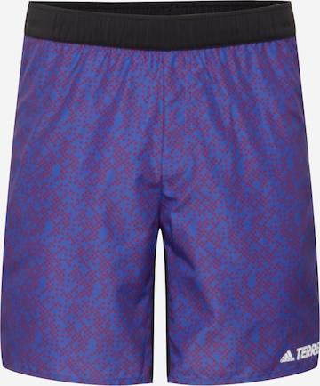 Pantalon de sport adidas Terrex en violet