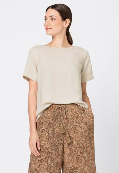 HALLHUBER Blusenshirt in beige, Modelansicht
