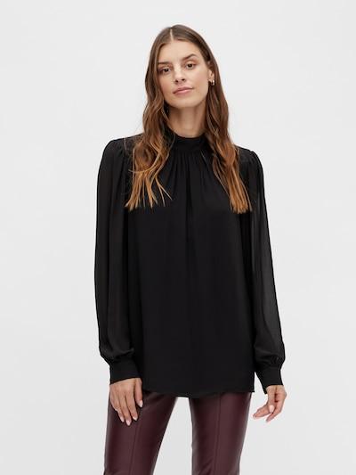 VILA Bluse 'Minea' in schwarz, Modelansicht