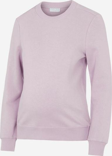 MAMALICIOUS Sweat-shirt en violet clair, Vue avec produit