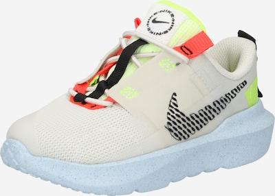 Sneaker 'Crater Impact' Nike Sportswear di colore beige chiaro / giallo neon / arancione / nero, Visualizzazione prodotti