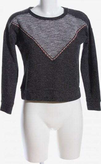 MANGO Sweatshirt in XS in hellgrau / schwarz, Produktansicht