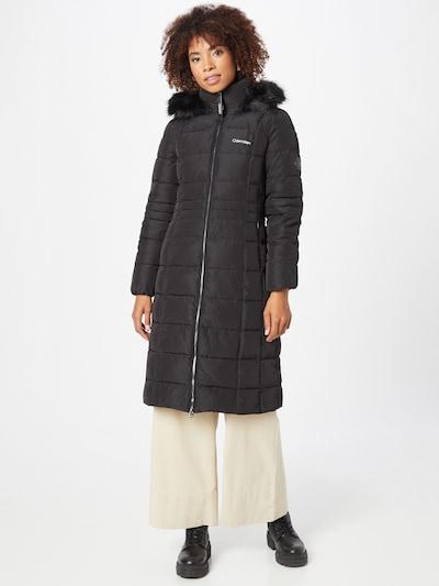 Calvin Klein Mantel 'SORONA' in schwarz, Modelansicht