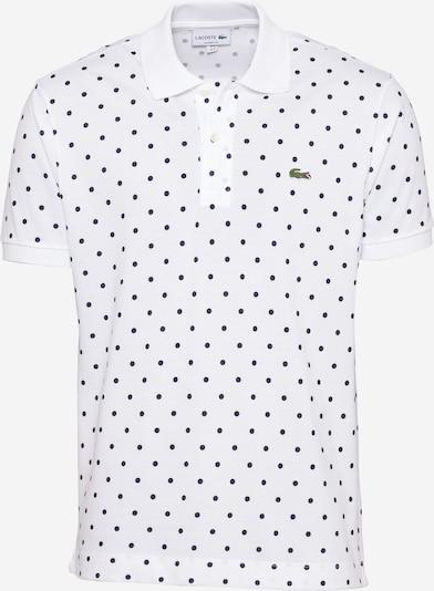 LACOSTE Tričko - tmavomodrá / svetlozelená / biela, Produkt