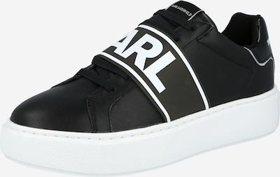 Sneaker bassa 'MAXI KUP' Karl Lagerfeld di colore nero / bianco, Visualizzazione prodotti