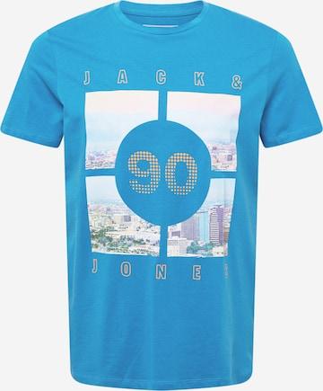 JACK & JONES T-Shirt 'BOOSTER' in Blau