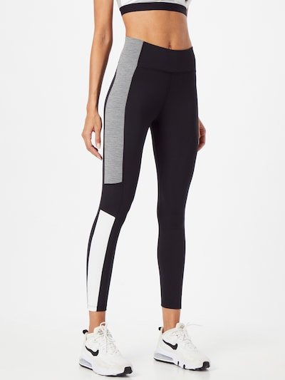 Pantaloni sport NIKE pe negru, Vizualizare model