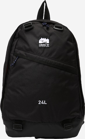 ADIDAS ORIGINALS Backpack 'Adventure' in Black