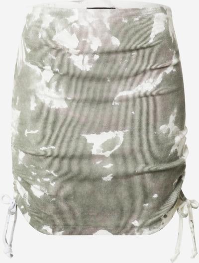 Trendyol Sukně - khaki / bílá, Produkt