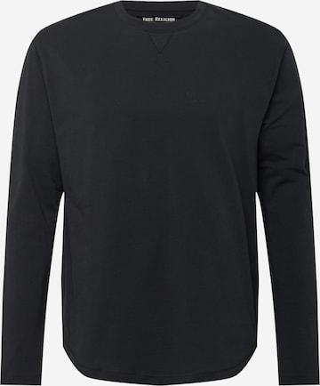 True Religion Shirt 'WITH TRUE' in Schwarz