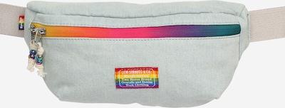 LEVI'S Torbica za okrog pasu 'Pride Sling' | svetlo modra / rumena / lila / oranžna barva, Prikaz izdelka