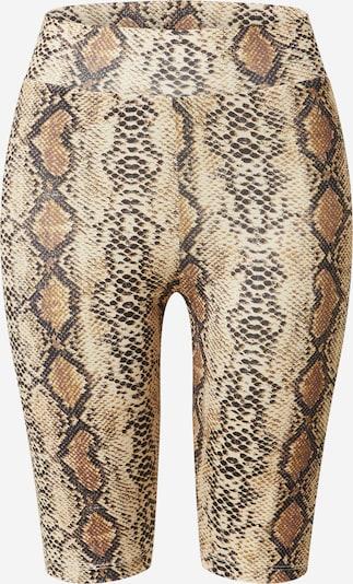 Noisy may Shorts 'PARLA' in beige / braun / schwarz, Produktansicht