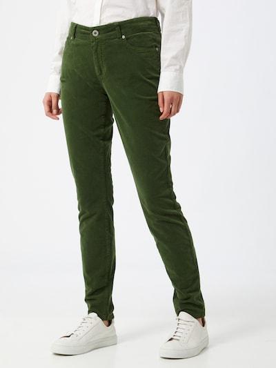 Marc O'Polo Broek 'Alby' in de kleur Grasgroen, Modelweergave