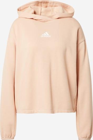 ADIDAS PERFORMANCE Sportsweatshirt in rosa / weiß, Produktansicht