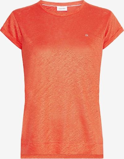 Calvin Klein Majica | oranžna barva: Frontalni pogled