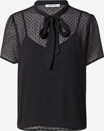ABOUT YOU Bluse 'Sienna' i svart
