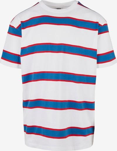 Tricou Urban Classics Plus Size pe azuriu / roșu / alb, Vizualizare produs