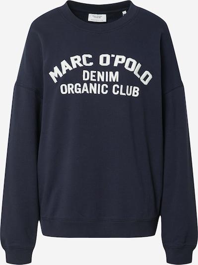 Marc O'Polo DENIM Sweatshirt in Night blue / White, Item view