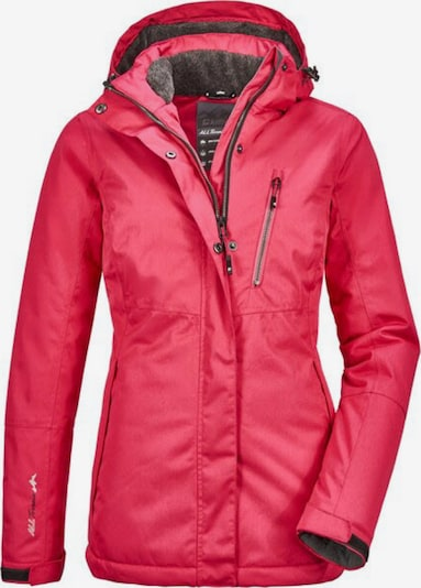 KILLTEC Outdoor jacket 'Nira' in dark pink, Item view