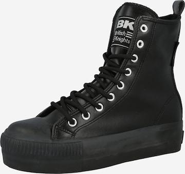 BRITISH KNIGHTS High-Top Sneakers 'KAYA' in Black