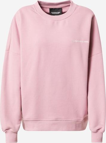 Colourful Rebel Sweatshirt i rosa
