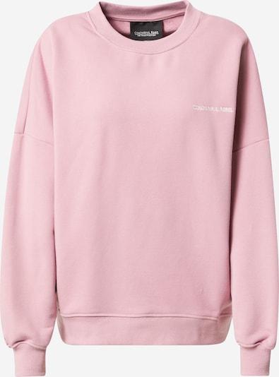 Colourful Rebel Sportisks džemperis, krāsa - rozā / balts, Preces skats