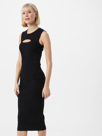 PATRIZIA PEPE Pouzdrové šaty 'ABITO' - černá, Model/ka