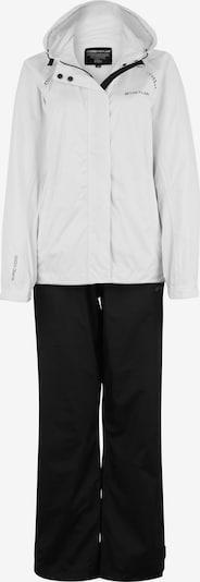 Whistler Regenanzug 'Brookdale' in schwarz / weiß, Produktansicht