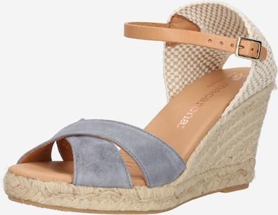 MACARENA Sandal 'CARLA 11' in Kitt / Light beige / Grey, Item view